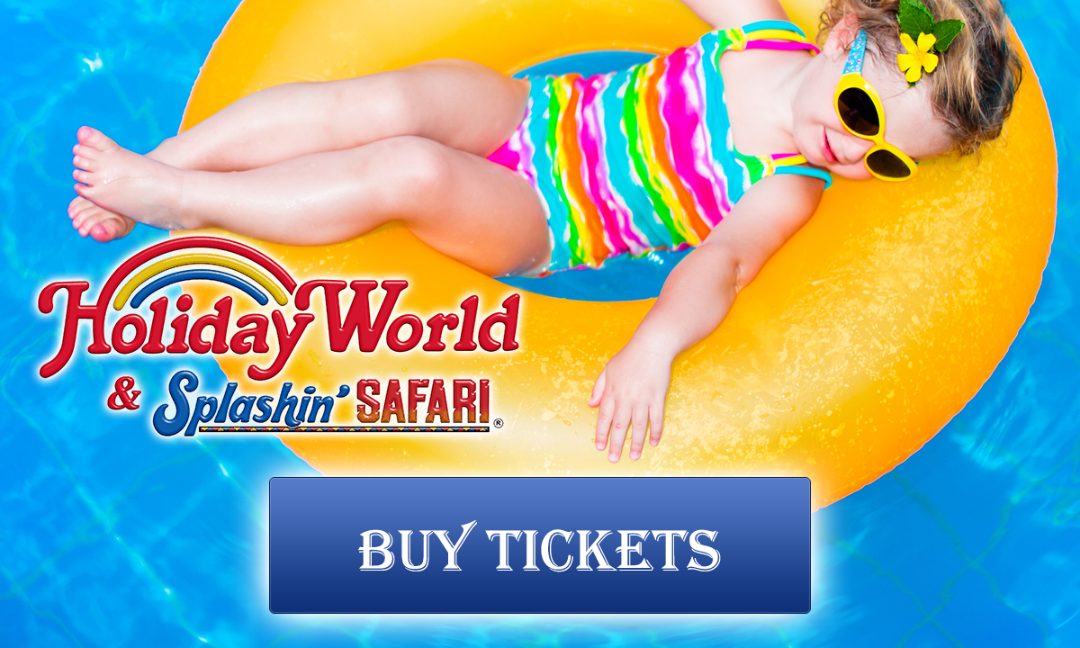 Holiday World and Splashing Safari: Buy Tickets!